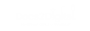 Docs2Digital - Keep Your Data, Not The Paper